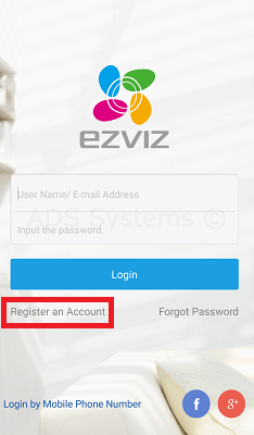 ezviz-mobile-register