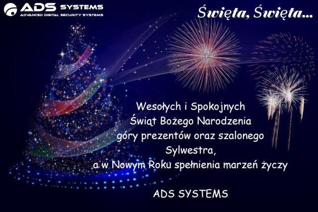 ADS SYSTEMS – ŚWIĘTA INOWY ROK…