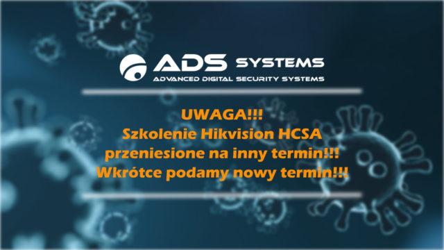 Szkolenie HCSA Hikvision – ZMIANA terminu