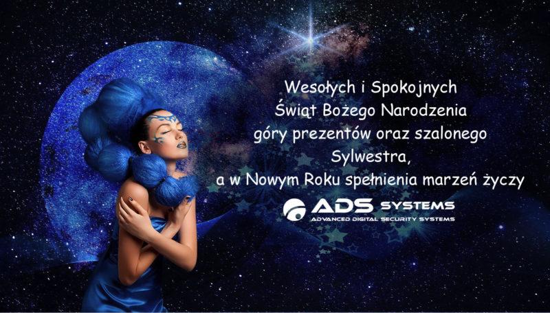 ADS SYSTEMS - ŚWIĘTA I NOWY ROK...