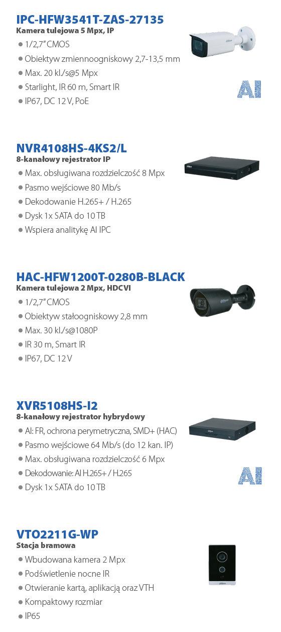 DAHUA PROMOCJA CCTV (sierpień 2021) - slide 3
