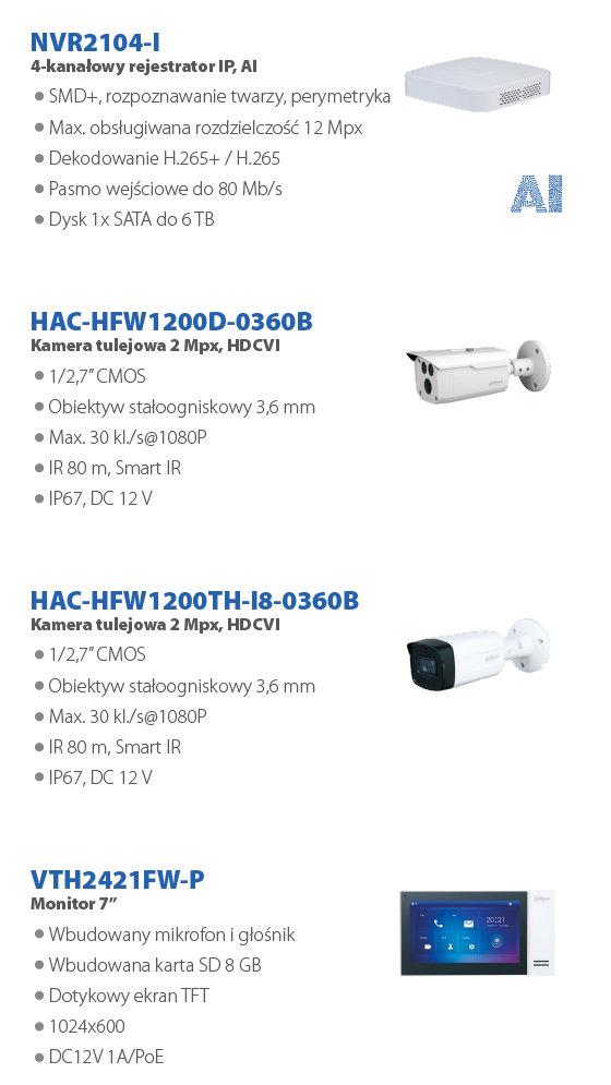 DAHUA PROMOCJA CCTV (sierpień 2021) - slide 4