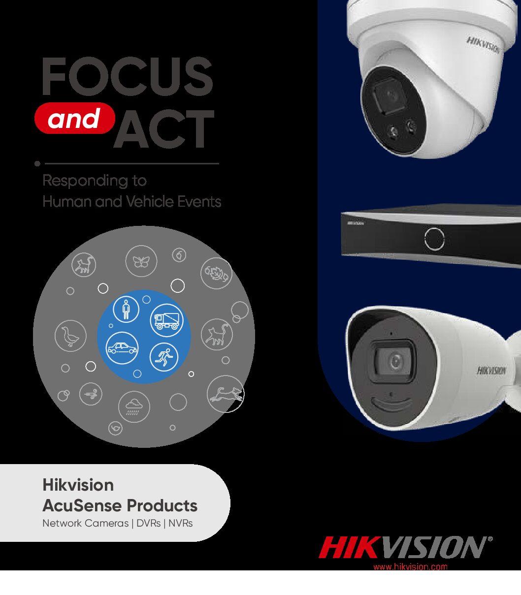 Do pobrania » Katalog Hikvision AcuSense Products Leaflet min pdf