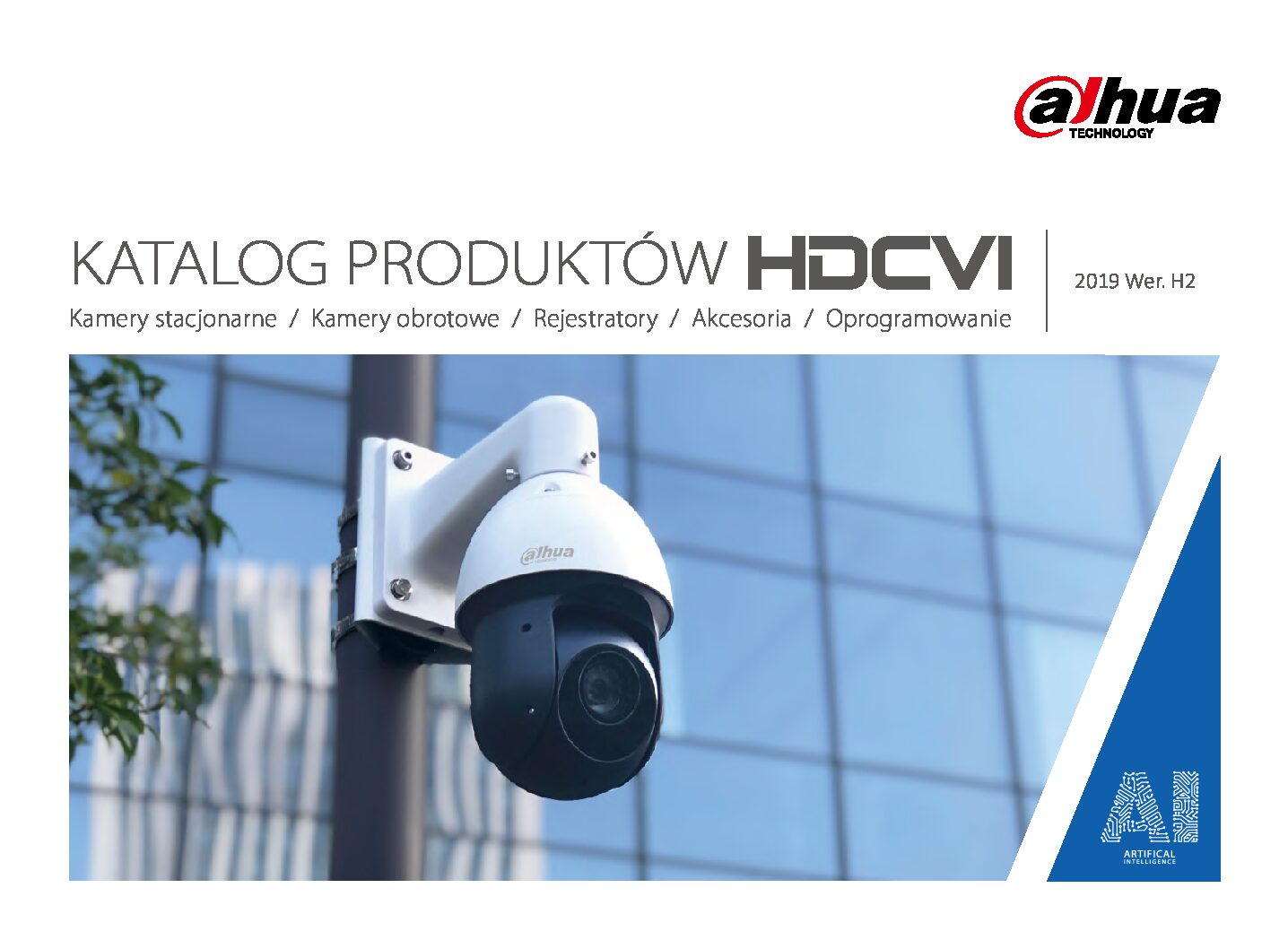 Do pobrania » Katalog Dahua Technology HDCVI catalog 2019 H2 PL min pdf